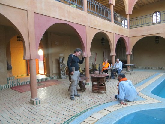 Guest House Merzouga: relaxed atmospher