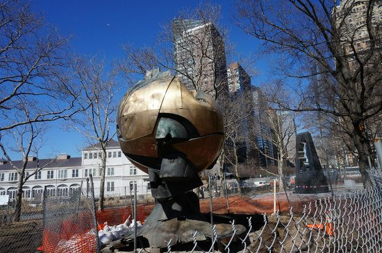 World Trade Globe at Battery Park