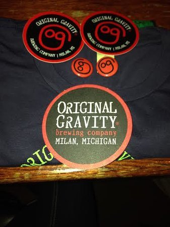 Original Gravity Brewing Compnay: Cool OG Shirt