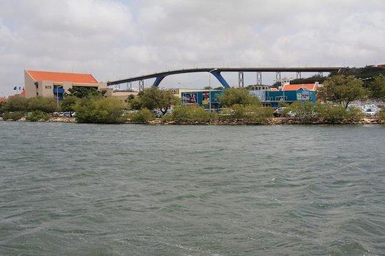 Queen Juliana Bridge seen from Punda