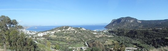 Sacallis Inn Beach Hotel: View from Kefalos
