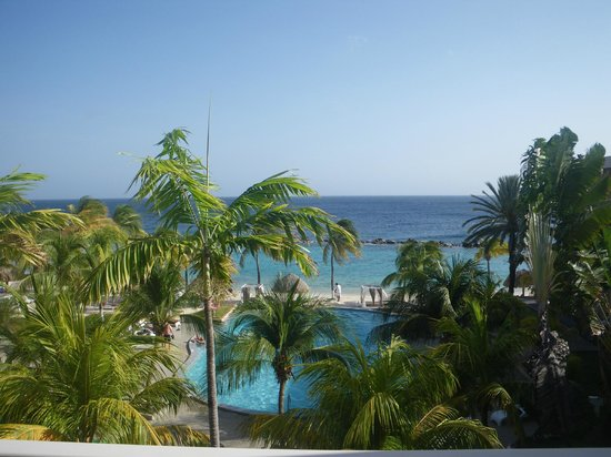Sunscape Curacao Resort Spa & Casino: View from room in bldg 8