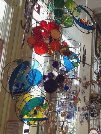 Art & Glassworks: Sun-catcher Mosaics, made in the store