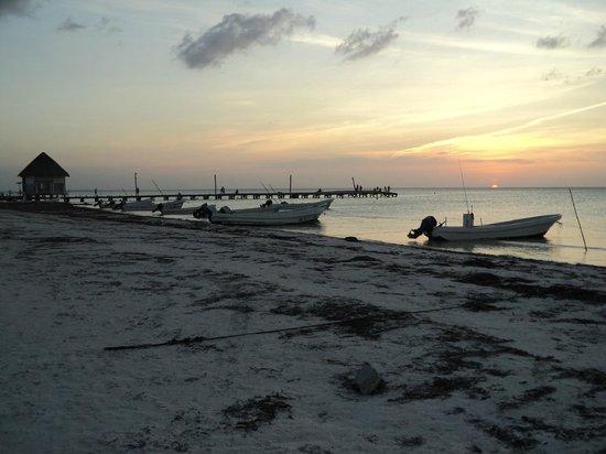Villas HM Paraiso del Mar: Atardecer en Holbox