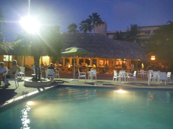 Sunscape Curacao Resort Spa & Casino - Curacao: Nightly entertainment around the pool