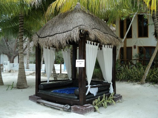 Villas HM Paraiso del Mar: Pocas cabañas de estas en el área de la playa pero muy agradables. Las puedes reservar