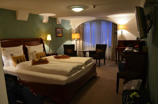 Hotel Herrnschloesschen : foto do quarto no segundo pavimento
