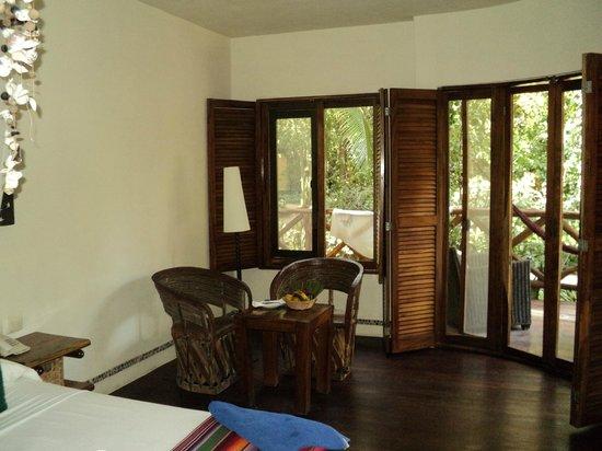 Villas HM Paraiso del Mar: Una mini salita - comedor