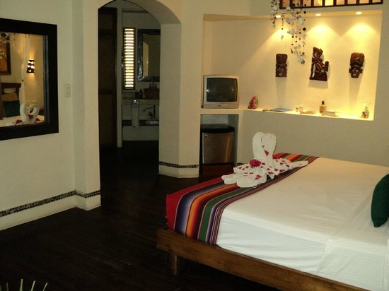 Villas HM Paraiso del Mar: Amplia habitación