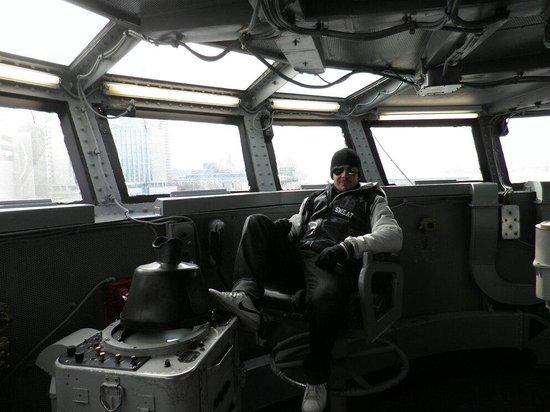 Intrepid Sea, Air & Space Museum : Sala de control