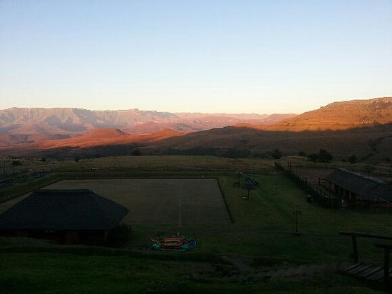 Little Switzerland Hotel: Your front yard view at 07:00am