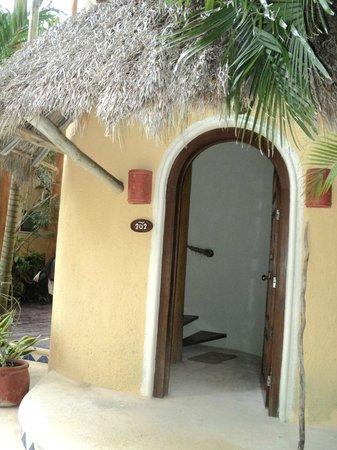 Villas HM Paraiso del Mar: Entrada para una habitación en primer piso