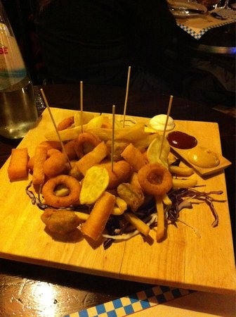 Lowengrube: Gran mix di frittura