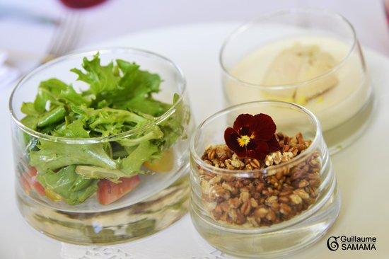 La Colombe : Le royal de foie gras à l