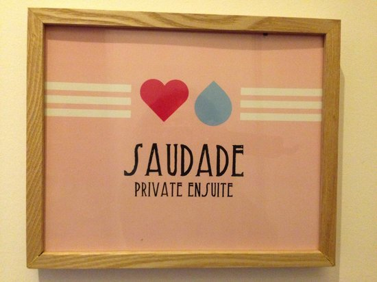 This is Lisbon Hostel: Saudade Suite
