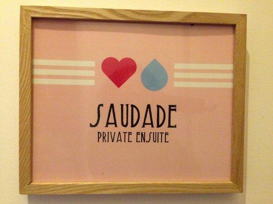 This is Lisbon Hostel : Saudade Suite