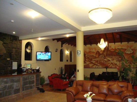 Hotel Mabey Urubamba: la recepcion