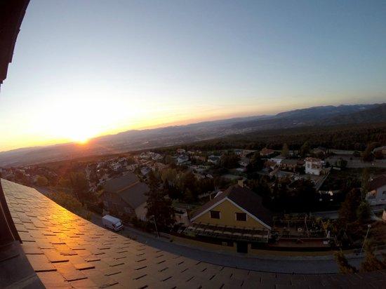 El Balcon de las Nieves: Vista desde la habitacion