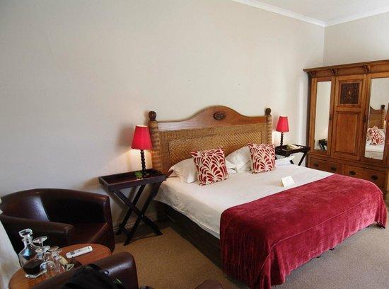 River Manor Boutique Hotel & Spa: unser Zimmer