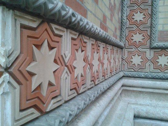 Great / Central Synagogue (Nagy Zsinagoga): External detail