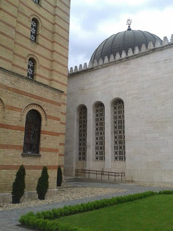 Great / Central Synagogue (Nagy Zsinagoga): The Heroes Temple