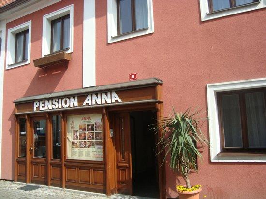 Pension Anna: entrada