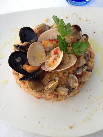 Ristorante D'Amore : Sea Shell Risotto