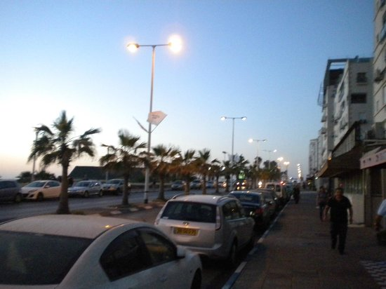 Armon Yam Hotel : ben gurion street
