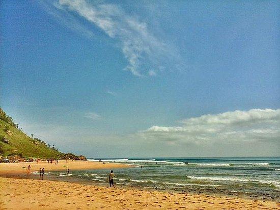Cabo Ledo: praia dos surfistas