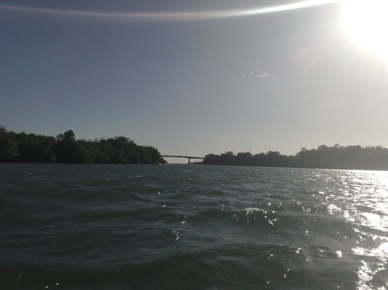 Laguna de la Restinga: Puente