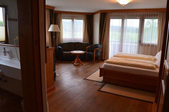 Hotel Restaurant Laschenskyhof: vista do quarto