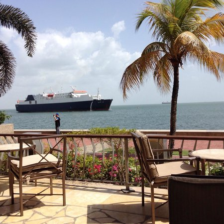Hyatt Regency Trinidad : View from Waterfront
