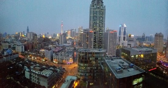 Salvo Hotel Shanghai : View from room made this hotel a worth it