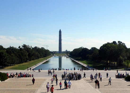 Lincoln Memorial: A lo lejos