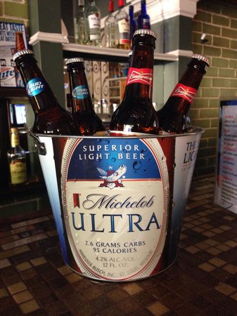 La Corona Mexican Grill: CINCO DE MAYO SPECIAL- bucket of beer with 5 bottles of your choice, $10 and keep the bucket!