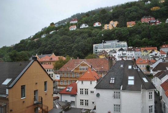 Marken Gjestehus: Вид на улицу