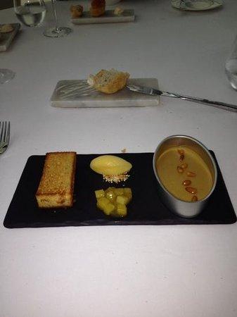 Water Library Chamchuri: foie gras terrine