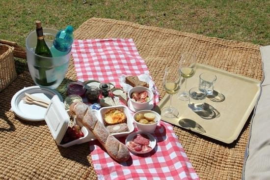 Hartenberg Wine Estate: picnic