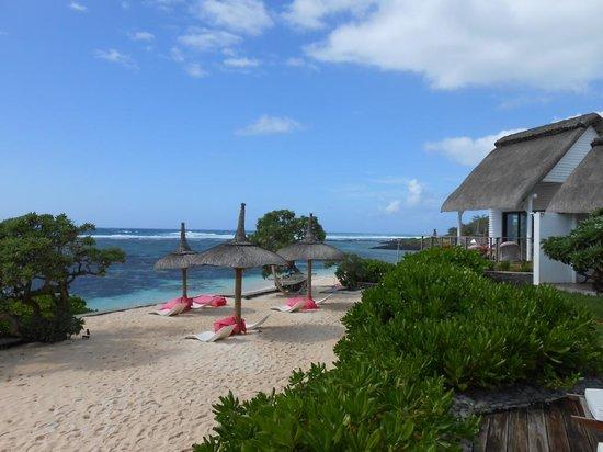 La Maison D'ete Hotel: beach view