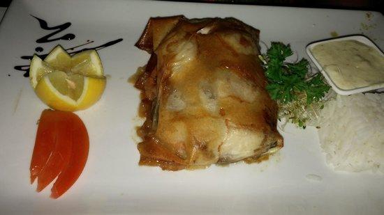 Restaurant le Soleil: sea bass