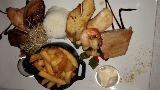 cassoulet - Picture of Restaurant le Soleil, Grand Case - TripAdvisor