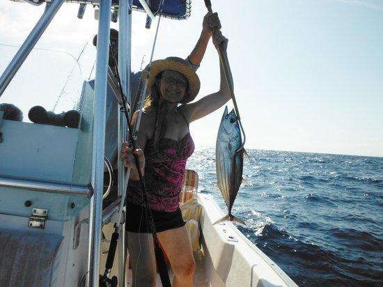 Captain Pip's Marina & Hideaway : Nice tuna