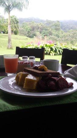 Hotel Lomas del Volcan: Breakfast