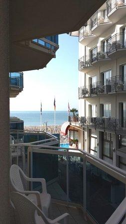 Hotel Canarie: vista dalla camera