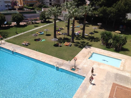 Hotel San Fermin: View from balcony