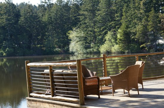 Lakedale Resort at Three Lakes: View from our deck