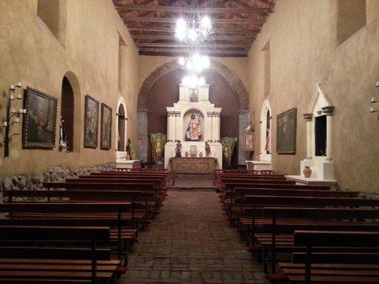 San Agustin Monasterio de la Recoleta Hotel : capilla del hotel
