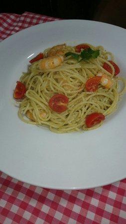Lorenzo Trattoria: Espaguetis pesto