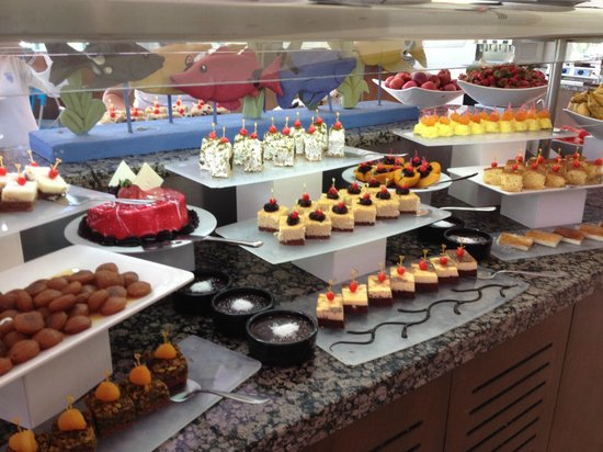 SENTIDO Zeynep Resort : Desserts