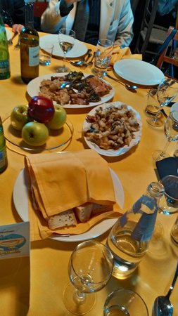 Borgo di Tragliata: Appetizers